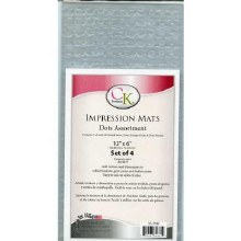 CK Product Impression Mats 12x6 4pc Dots