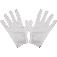 CK Product White Cotton Gloves
