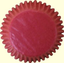 CK Product Baking Cups: Red/100