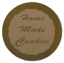 CK Product Homemade Candy Labels 10pk