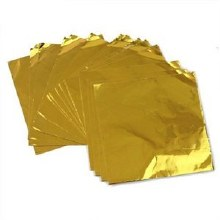 CK Product Gold 3x3 Foils 125/pkg