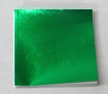 CK Product Green 3x3 Foils 125/pkg