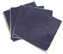CK Product Black 4x4 Foils 125/pkg