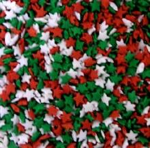 Confetti Redwhitegreen Stars 1