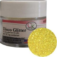 CK Product Yellow Rainbow Disco Dust 5gr
