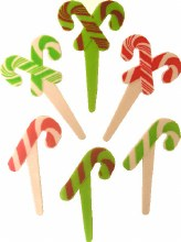 Candy Cane Picks