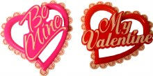 Valentine Heart Toppers