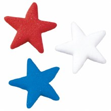 Star Sugar Decorations 6pack