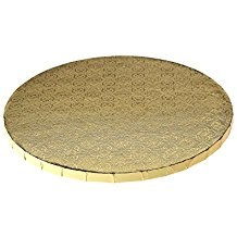"Whalen 8"" Gold Round Drum 1/2thick"