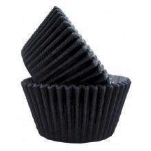 Fox Run Black Baking Cups 50/pkg.