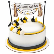 Future Is Bright Cake Topper