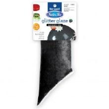Black Blackberry Glitter Glaze