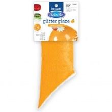 Yellow Mango Glitter Glaze