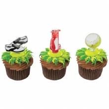 Golf Cupcake Topper 6pk