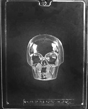 Life of the Party Small 3d Skull (front)