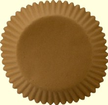 Unbleached Cupcake Papers/50