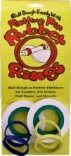 Rubber Rolling Pin Rings/4 Pai
