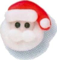 Icing Decorations: Small Santa