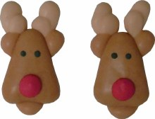 Icing Decorations: Reindeer Fa