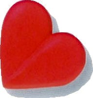 Large Red Hearts
