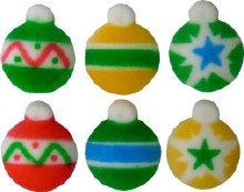 Sugar Decorations: Ornaments/6