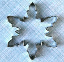 ATECO Large Snowflake Cutter