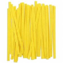 Twist Ties: Yellow/100 Pkg