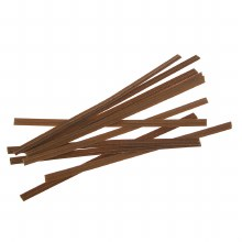 Twist Ties:  Brown/100 Pkg