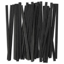 Twist Ties: Black/100 Pkg
