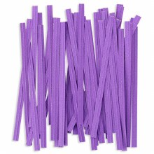 Twist Ties: Purple/100