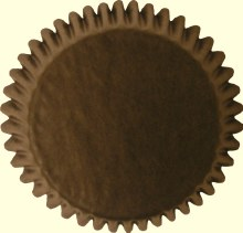 Baking Cups: Brown