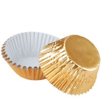 Gold Foil Baking Cups