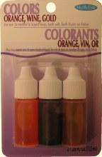 Soap Dye: Orange/wine/gold