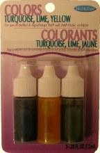 Soap Dye: Yellow/turquoise/lim