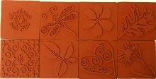Square Nature Embossing Stamps