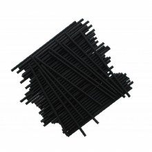 Lolly Sticks 41/2' Black 50/pk
