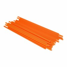 Lolly Sticks 41/2'orange 50/pk
