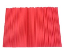 Lolly Sticks 41/2' Red 50/pkg