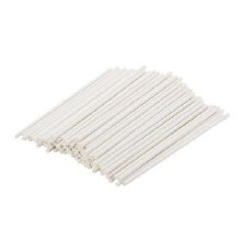 Lolly Sticks 6' White (case)