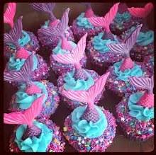 Supply Kit Mermaid Cupcakes