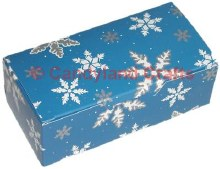 1/2 Lb Snowflake Blue Box/5