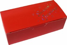 1 Lb Red Seasons Greetings Box