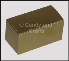 Box Plain Mini Gold Luster/5