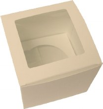 Single White Cupcake Box/5