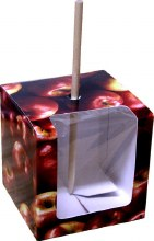 Apple Print Box 4' Cube/5