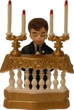 Communion Boy At Altar
