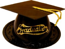 Graduation Cap Favor/topper Bl