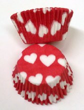 Valentines Baking Cups 55pk