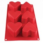 4,4oz Heart Baking Mold