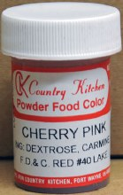 CK Product Powdered Food Color: Cherry Pi